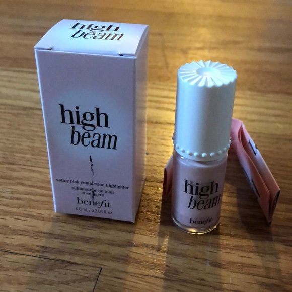 Benefit Other - Benefit high beam satiny pink highlighter 6.0mL